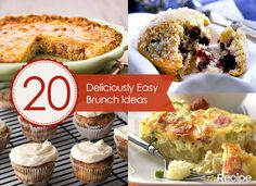 20 Easy Brunch Recipes to Linger Over