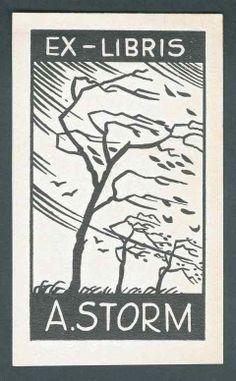 Ex Libris, A. Storm