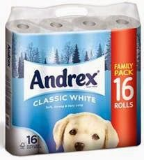 Win a Christmas supply of toilet tissue for your family courtesy ofAndrex