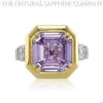 5.00ct. Natural Untreated Purple Sapphire with delicate violet hue Ring With 2 Diamonds 0.49ct. total   Price: 	$11,990 http://astore.amazon.com/greabengagementring-20/detail/B00DFCD44E