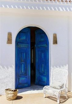 summer cala | Color your home | Blue door