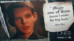 """S5 Ep12 """"Souls of the Departed"""" - A little fatherly wisdom imparted to the Dark One? #Once100 #OnceUponATime"""