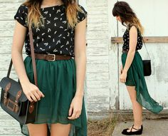 Hipster Indie Fashion | ... skirt turquoise fashion indie fashion indie hipster hipster fashion