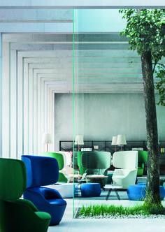Radar lounge chair by Casamania