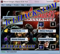 Marvel Avengers Alliance Hack Download V5.5b This is the private undetected free hack for marvel avengers alliance easy no surveys download facebook free gold silver command points how to hack marvel avengers alliance.  Facebook command points and shield generator marvel avengers alliance simple tips and tricks cheat engine generator glitch