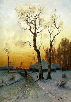 Klever Julius - Thaw. 900 Classic russian paintings
