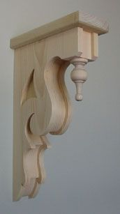 How's this for a bracket?! A Mounts Hill Woodcraft bespoke piece.
