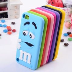 Lovely Cute Case Silicone Skin Cover for Apple iPod and iPhone Touch 5 Gen Cute Ipod Cases, Ipod Touch Cases, Ipod Touch 6th, Cool Iphone Cases, Cool Cases, Iphone 5c, Coque Iphone 6, Coque Ipod Touch 6, Apple Coque