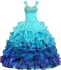 ANTS Women's Cap Sleeves Quinceanera Dress Ball Gown Prom... https://www.amazon.com/dp/B019ZIQQBY/ref=cm_sw_r_pi_dp_x_.oomybT4A9S75