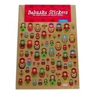 Russian Babushka Doll Stickers