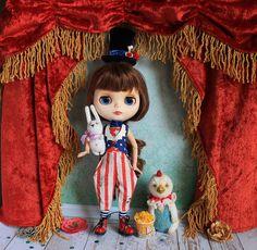 MADE TO ORDER - Circus outfit for Blythe: tail-coat+corset+shorts hood red blue white national colors blytheclothes blythe doll custom My favorite Outfit from collection circus outfits in national colors. Мой самый любимый наряд из цирковой коллекции в национальных цветах. #blythe #vintagecircus #circus #etsy #etsysale #etsyshop #etsyshoping #blythedollsofinstagram #blythedolladdiction #teddybears #blythedoll #customblythedolls #blytheclothes #circusblythe #circusteddybear #etsypurch