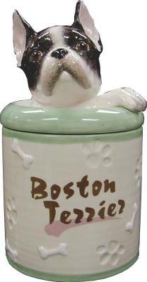 Boston Terrier Collectible Cookie Jar.