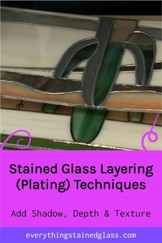 This video will show you how a plated or layered stained glass panel is constructed to give dimension, texture and shadow. Making Stained Glass, Stained Glass Projects, Stained Glass Patterns, Plating Techniques, Glass Garden Art, Lampwork Beads, Glass Panels, Mosaic Glass, Mosaics