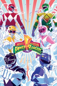 Mighty Morphin Power Rangers #SonGokuKakarot