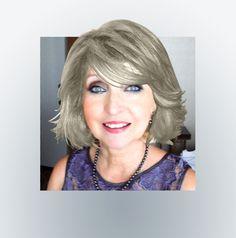 ... Going Platinum on Pinterest | Gray hair, Grey hair and Silver hair