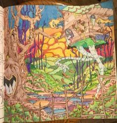 Legendary Landscapes Coloring Book Journey Witek Radomski Carrie Wong 9780994881502 Amazon