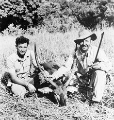 Image result for 1940s hunting in africa