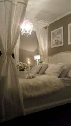 Romantic, relaxing bedroom makeover.