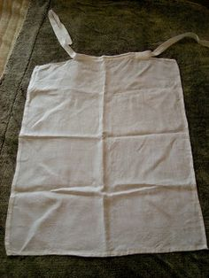 16th c Flemish apron