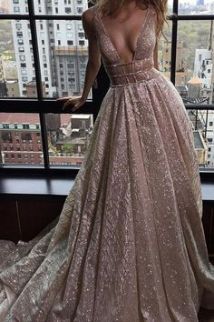 Prom Dresses Lace #PromDressesLace, Silver Prom Dresses #SilverPromDresses, Prom Dresses A-Line #PromDressesALine, Modest Prom Dresses #ModestPromDresses, Long Prom Dresses #LongPromDresses