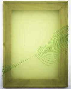 Justyn Hegreberg, Disposition Matrix 3, 2014 nylon and high-density polyethylene, 12 by 9in (30 by 23cm)