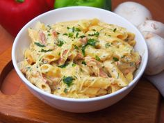 Penne, Cheddar, Potato Salad, Spaghetti, Potatoes, Ethnic Recipes, Food, Cheddar Cheese, Eten