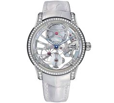 Buy Ulysse Nardin Classico Skeleton Tourbillon White Gold Watches, authentic at discount prices. Complete selection of Luxury Brands. All current Ulysse Nardin styles available. Grand Prix, Gold Diamond Watches, Skeleton Watches, Beautiful Watches, Awesome Watches, Beautiful Ladies, Rolex Datejust, Watch Sale, Watches Online