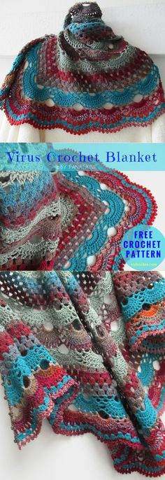Crochet → Neck , Torso, Shawl , Wrap | size: One size | Written | US Terms Level: upper beginner yarn: Stylecraft Special Double Knit / DK (11 wpi), Hook: 3.5 mm (E) Author: Jinty Lyons' Ravelry Store This is fabulous project includes more than 300 realizations what shows how popular and trendy is this. You will be very happy and satisfy. Remember us and share your final work in our Facebook group The printable pattern in English is on this site. Needed details are here. About this p...