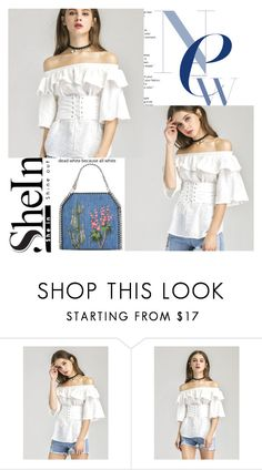 """""""shein"""" by ideal-i ❤ liked on Polyvore featuring WithChic and STELLA McCARTNEY"""