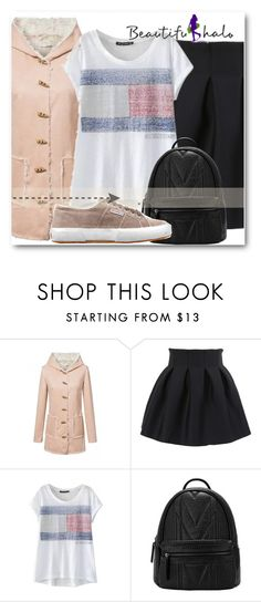 """""""BHALO !!"""" by dianagrigoryan ❤ liked on Polyvore featuring Superga, women's clothing, women's fashion, women, female, woman, misses, juniors and beautifulhalo"""