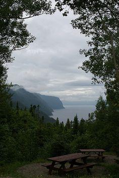 Le Fjord du Saguenay - Anse de la Tabatiere, Québec, Canada