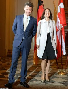 Queens & Princesses - Crown Prince Frederik and Princess Mary continue their visit to Germany, where they accompany a delegation of Danish entrepreneurs.