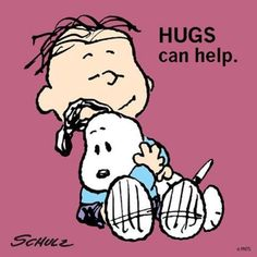A hug can make all the difference in the world