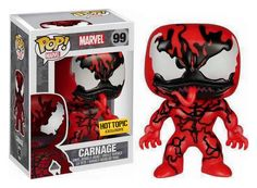 Funko POP! Carnage #99 - Hot Topic Exclusive - Rare - Hard to FInd in Collectibles, Pinbacks, Bobbles, Lunchboxes, Bobbleheads, Nodders | eBay