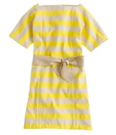 Dress by J. Crew girls'. Adults can wear it, too!