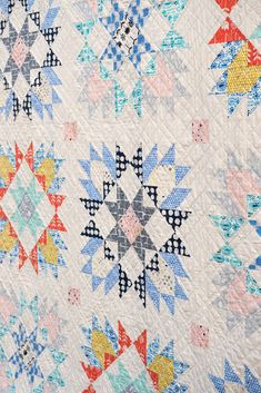 The Isabella Quilt ~ Fabrics: Sienna by Alexia Abegg
