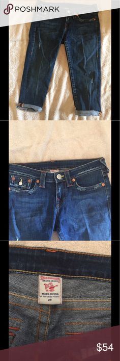 True Religion Capri size 29 Lovely jeans Capri for spring n summer  Size 29  True Religion True Religion Jeans Ankle & Cropped