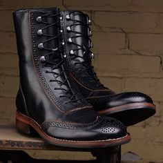 Men's Winchester 1000 Mile Brogue Boot - W06492 - Vintage Boots | Wolverine