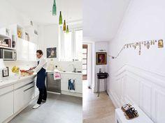 VINTAGE & CHIC: decoración vintage para tu casa [] vintage home decor (love the ex voto wall art)