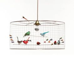 Challieres Suspension Petite Voliere – Multi from Let There Be Lighting - R7,999 (Save 0%)
