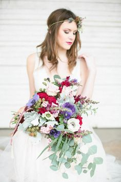Winter Wedding Inspiration by Poppy + Vine Events at Kraftsmen Cafe in Houston, Texas  http://junebugweddings.com/wedding-blog/what-junebug-loves/romantic-texas-wedding-inspiration-kraftsmen-cafe/