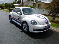 Herbbi a truly international lovable 2013 VW that puts a smile on everyones face that sees him.