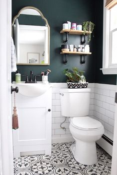 Benjamin Moore - Salamander – emilyeveryday 27 Inspirational Bathroom Color Ideas paint colors benjamin moore The 12 Best Bathroom Paint Colors Our Editors Swear By Bathroom Design Small, Bathroom Interior Design, Bathroom Designs, Small Bathroom Colors, Small Bathroom Ideas, Colorful Bathroom, Bath Ideas, Interior Paint, Vanity For Small Bathroom