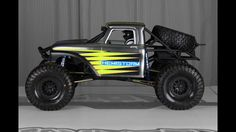 """ULTRAFORD"" 1966 Ford F100 ROCK RACER - CUSTOM AXIAL BOMBER"