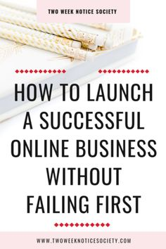 I always have people that ask how to launch a successful online business without failing first. Starting an online business and running it successfully is not about being smart, it's about common sense and perseverance. Launching a business is hard work and requires a great deal of dedication.  business plan, business plan template, how to write a business plan, how to make a business plan #workfromhome #leave9to5 #twoweeknotice #sidehustle #mompreneur #businessplan