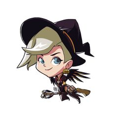 Witch Mercy Alternate Cute Spray by petetoy Mercy Fanart, Overwatch Memes, Art Sketches, Worship, Disney Characters, Fictional Characters, Witch, Fan Art, Deviantart