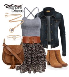 Elena Gilbert inspired spring outfit