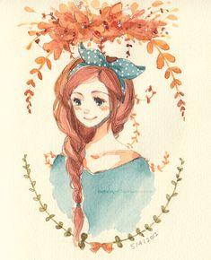 Maple by cartoongirl7.deviantart.com on @DeviantArt