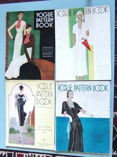 Vogue Pattern books, 1930s