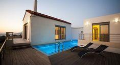Villa Levanda - Authentic Crete, Villas in Crete, Holiday Specialists Crete Holiday, Bedrooms, Mansions, House Styles, Villas, Outdoor Decor, Romantic, Design, Home Decor